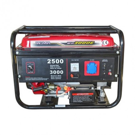 Generator curent electric Weima WM3000E, 2500 W, pornire electrica, rezervor 15 l