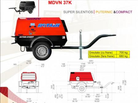 Motocompresor Rotair MDVN 37 K