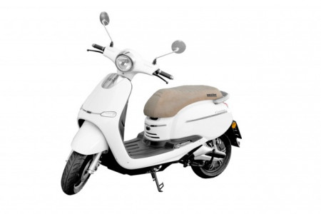 Scuter electric, HECHT CITIS WHITE 3000 W, 45 km/h