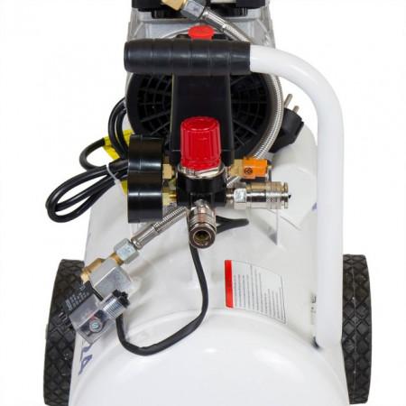 Compresor silentios Stager HM24JW-0.55, 0.75CP, 24L, 8BAR