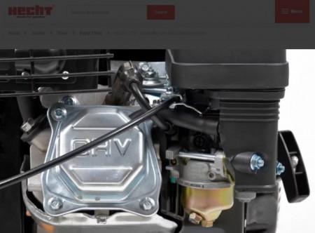 Hecht 750 Motosapatoare 6.5 CP, latime de lucru 50 cm