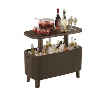 Mini bar gradina ratan maro Keter Bevy Cool Bar