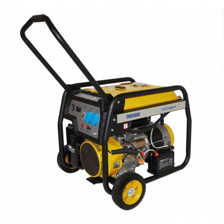 Generator open frame Stager FD 6500E