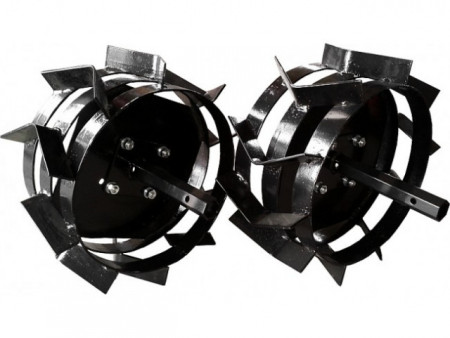 Motocultor Rotakt RO75R, 7 CP, benzina Plug de arat + Plug de bilonat + Plug de scos cartofi + Roti metalice 4.00-8 / 40 cm, cu manicoate