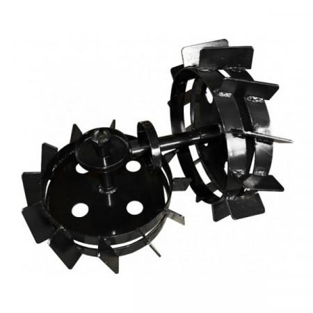 Roti metalice Rotakt 42 cm pentru motocultor MF360