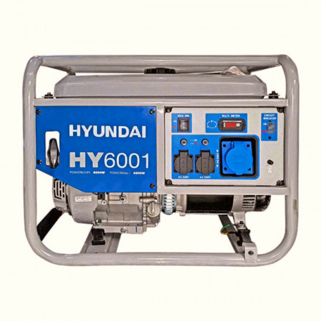 Generator de curent monofazic 6 kW HYUNDAI HY6001