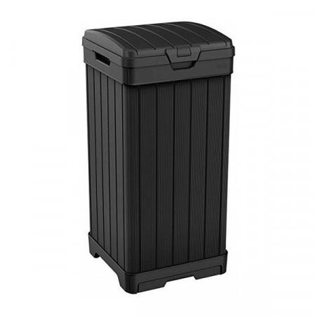 Cos pentru gunoi negru Keter Baltimore 125 L