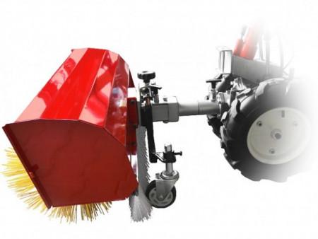 Motocultor Rotakt MF360 + perie rotativa de curatat (matura) SW360