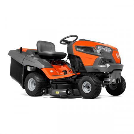 Tractoras pentru tuns gazonul Husqvarna TC242T