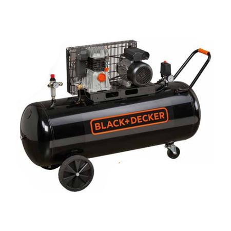 Compresor Black+Decker 200L 3HP 10 Bar BD 365/200-3M