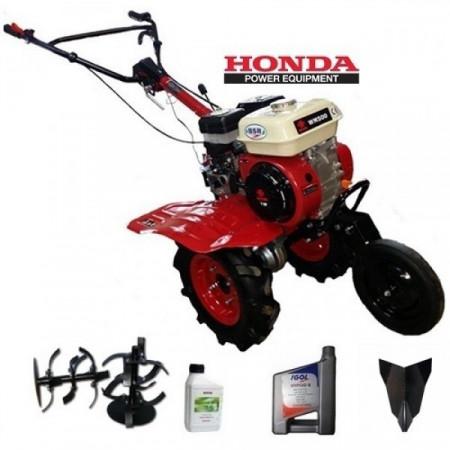 Motosapa BSR 500 motor Honda GX-200 6.5 CP, rarita fixa, ulei
