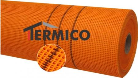 Plasa din fibra de sticla premium 160g/mp portocalie