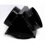 Adaptor metalic Calore EC55 ACC194 cu 2 iesiri aer 2x300 mm