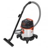 Aspirator umed/uscat Black+Decker 20L 1400W cuva inox - BXVC20XTE
