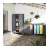 Dulap 4 polite graphite Keter High Moby
