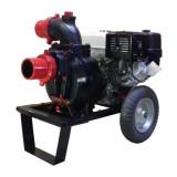 Motopompa profesionala pentru apa murdara DWP 420 BS4X pornire electrica