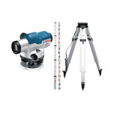 Nivela optica Bosch GOL 26 G + Stativ BT 160 + GR 500