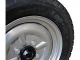 Remorca motocultor Rotakt REM450 PRO, 450-500 KG, basculabila