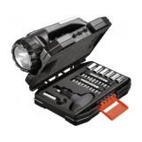 Set 35 accesorii Black+Decker insurubare + lanterna si vesta - A7141