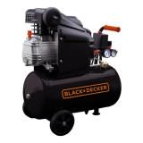 Compresor orizontal Black+Decker 24L 8BAR 160L/min - BD 160/24