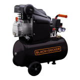 Compresor orizontal Black+Decker 24L 8BAR 160L/min - BD 160/24
