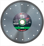 Disc diamantat de taiere continuu, 250x25.4/22.2x2.5 mm, taiere umeda si uscata, Diatech - TS250