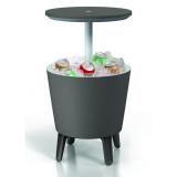 Mini bar gradina gri Keter Cool Bar
