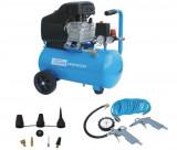 Compresor aer cu piston GUDE 210/8/24 + 12 ACCESORII
