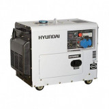 Generator de curent monofazat cu motor diesel HYUNDAI DHY6000SE