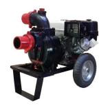 Motopompa pentru ape murdare cu motor Kama pe benzina DWP 390 K4X