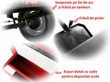 Remorca motocultor Rotakt REM500, 500 kg, basculabila