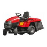 Tractor de tuns gazonul Hecht 5938