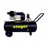 Compresor aer Stager HM3100V-10, 100L, 10bar, 356L/min