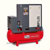Compresor cu surub Fini cu uscator inclus PLUS 8-10-500ES