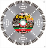 Disc diamantat de taiere segmentat, 230x22.2x2.5 mm, taiere uscata, Diatech - GE230