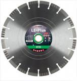 Disc diamantat de taiere segmentat, 300x30-25.4x3.3 mm, taiere umeda si uscata, Diatech - LE-Plus300