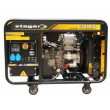 Generator uz general Stager YDE12E, diesel