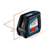Nivela laser cu linii Bosch GLL 2-50 + BM 1 + LR 2