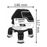 Nivela laser cu linii GLL 3-50 Professional