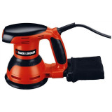 Slefuitor orbital talpa rotunda Black&Decker D125MM 260W