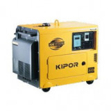 Generator curent diesel SuperSilent Kipor KDE 6700 TA3