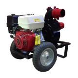 Motopompa profesionala pentru apa murdara DWP 390 H4X cu motor Honda