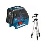 Nivela laser cu puncte/linii si stativ Bosch GCL 25 + BS 150