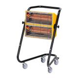 Radiator electric cu infrarosu pentru interior 3000 W Calore MT30