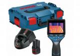 Termodetector Bosch GTC 400C cu acumulator GBA 12V 2.0Ah + Incarcator rapid Bosch GTC 400C