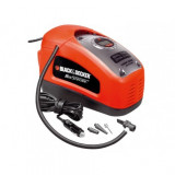 Compresor auto Black+Decker 11bar. AC/DC 12V/230V - ASI300