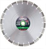 Disc diamantat de taiere segmentat, 350x30-25.4x3.3 mm, taiere umeda si uscata, Diatech - LE-Plus350