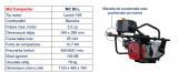 Mai compactor Bisonte MC80-L motor Loncin, 5.5 CP