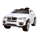 Masina pentru copii BMW X6- WHITE