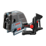 Nivela laser cu puncte/linii si suport universal Bosch GCL 25 + BM1